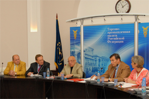 CPPE Head reported at a round-table in the Russian Chamber of Commerce and Industry